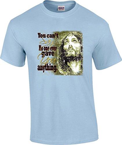 say anything shirt light blue - 3