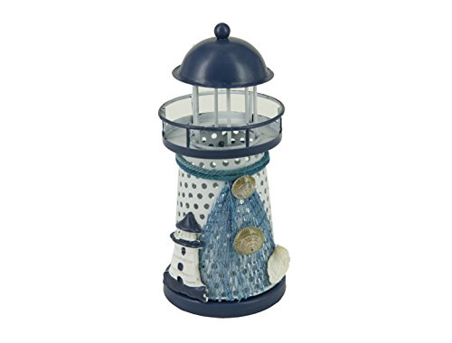 Nautical-Anchor-Color-Changing-LED-Lantern-Night-Light-Metal-Vintage-Openwork-Ocean-Lighthouse