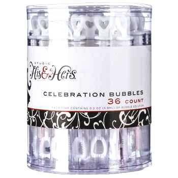 Clear Celebration Bubble Tubes, Wedding, Party, Event, Reception & More.36 (Wedding Reception Bubbles)
