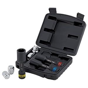 SK11 インパクト用ホイールナットソケットセット 差込角 12.7mm (1/2インチ) SWS403P
