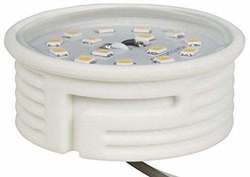 LED Lampe Flat Keramik 5W 400lm 230V Ø 50x20mm warmweiss dimmbar Spectrum