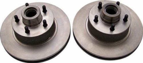 Helix Suspension Brakes and Steering 12353 11 in. 32 Ford Rotors 5x4.5 Ford Bolt Pattern - 1 Pair