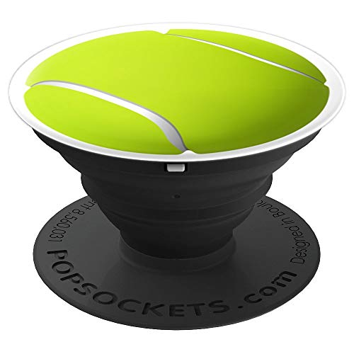 Cool Tennis Ball Green Design Sports Lovers Teens Kids Girls - PopSockets Grip and Stand for Phones and - Tennis Knob Ball