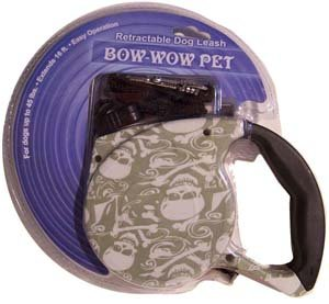 - Bow-wow Retractable Dog Leash Skull & Crossbones Green(Extendable to 16.5 Feet)