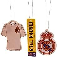Real Madrid CF Air Fresheners (Pack Of 3)