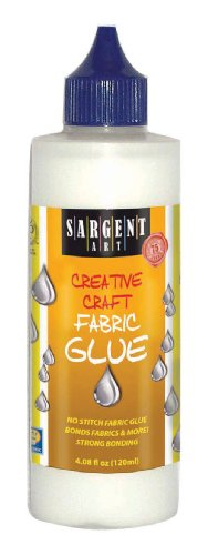 Sargent Art 23-1405 4-Ounce Fabric Glue