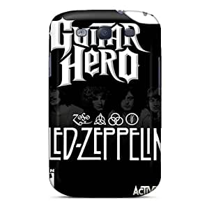 Shock-Absorbing Hard Cell-phone Cases For Samsung Galaxy S3 With Unique Design Vivid Led Zeppelin Band Image Icase88