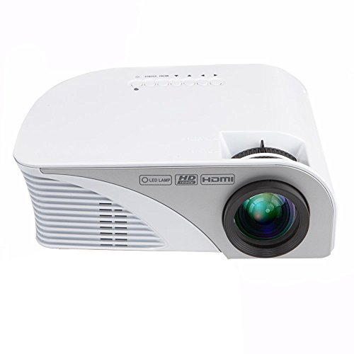 Best hd projector dihome lcd led 1200 lumens mini for Highest lumen pocket projector