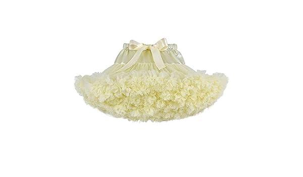 Ybriefbag - Disfraz de tutú Plisado de tutú para niña, Falda de ...