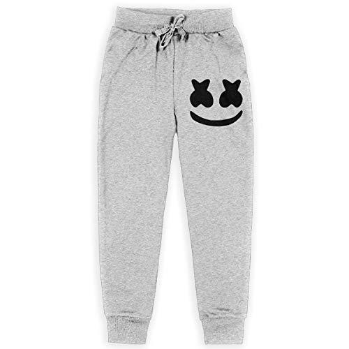Andy and Reid Marshmello Big Boys Sport Cotton Jogger Pants Stretch Active Basic Sweatpants