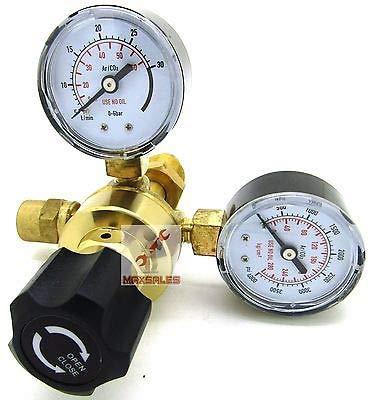 (KaleidoScope) Argon CO2 Regulators Gauges Welding CGA580 Miller Lincoln Mig Tig