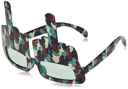 Camo Redneck Salute Fanci-Frames Party Accessory (1 count) (1/Pkg)