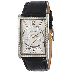 Romanson Men's DL5146NM1CAS1G Classic Watch