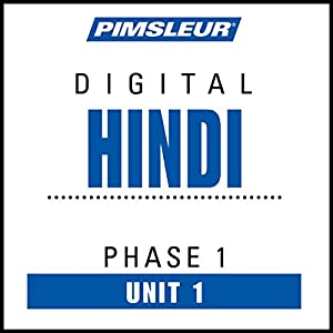 Hindi Phase 1, Unit 01 Audiobook