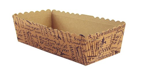 Fox Run Brands 44528 French Design Loaf Pan Baking Papers, Small, Rectangular (Mini Loaf Pan Paper compare prices)
