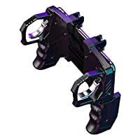 Activane Four-Finger Mobile Game Controller Linkage Gamepad Gaming Grip Gamepad Mobile Controller Trigger 3-in-1ame Controllers Easy to Grip