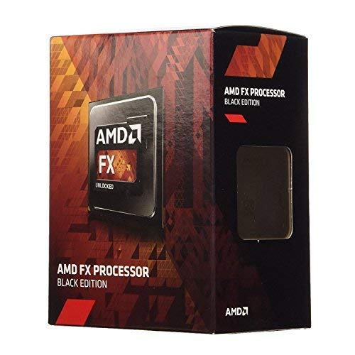 AMD FX-4300 Quad-core (4 Core) 3.80 GHz Processor - Retail Pack - 4 MB Cache - 4 GHz Overclocking Speed - 32 nm - Socket AM3+ - 95 W (Best Amd Am3 Processor For Gaming)