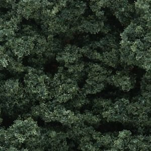Woodland Scenics Dark Green Underbrush Clump-Foliage (32 oz. (Woodland Scenics Underbrush Foliage)