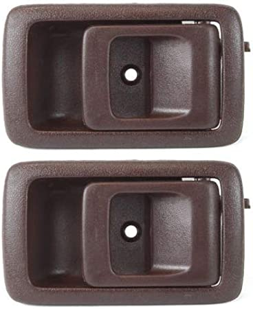 Rear Right Outside Door Handle Textured Black for 88-91 Corolla Prizm