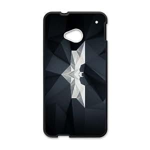 HTC One M7 Phone Case Black Batman IH4500058