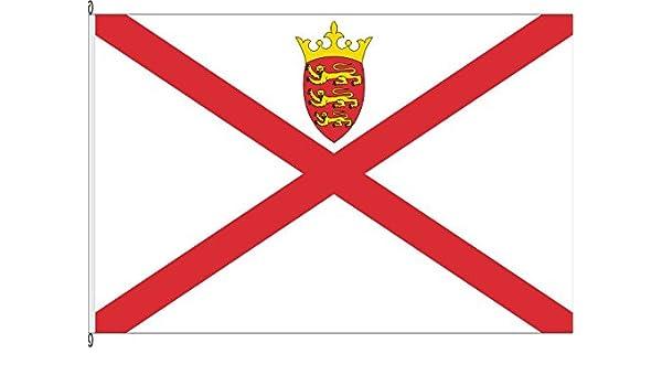 Bandera Jersey – 150 x 250 cm – Bandera y: Amazon.es: Jardín