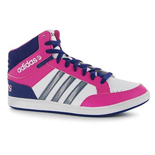 adidas-Hoops-Scarpe da Ginnastica Medio Alte da Donna, Stile ...