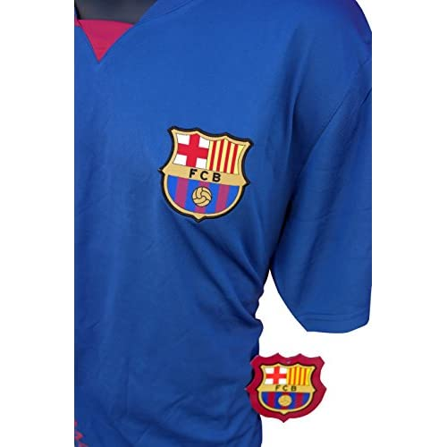 00a16162a chic FC Barcelona Soccer Officially Licensed Adult Soccer Training  Performance Poly Jersey 003 Rhinox