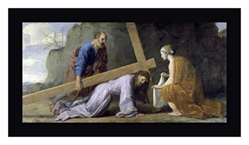 Jesus Carrying His Cross by Eustache Le Sueur - 18