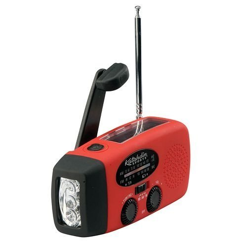 National JLR Gear Crank Radio