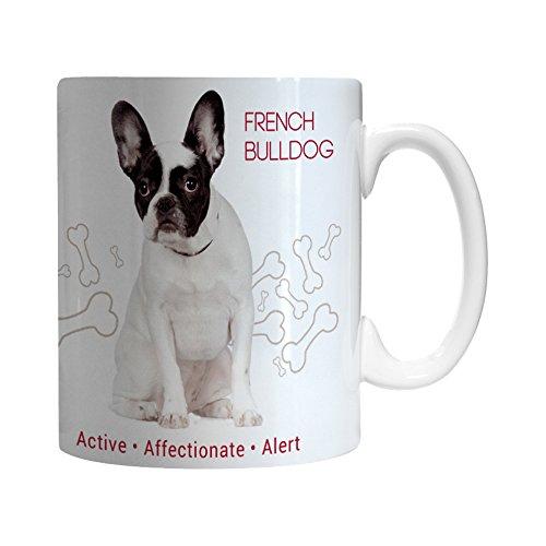 Boelter Brands French Bulldog Ceramic Mug, 11-ounce