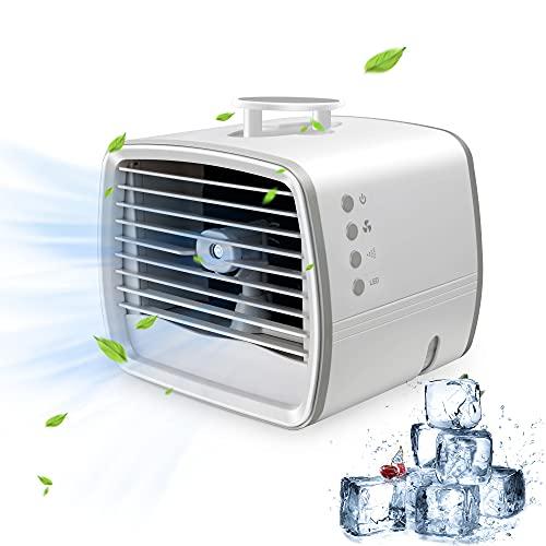 Die Beschreibung stimmt mit dem Gerät überein. Die kommende Hitze muss allerdings klären ob es wirklich eine Abkühlung bringen wird.