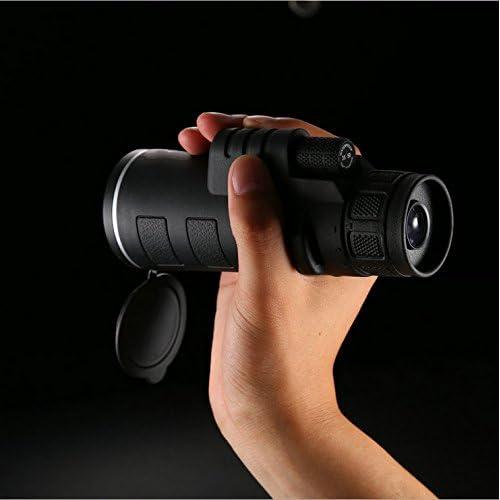 WYJS Télescope Monoculaire 35X50 Poche de Vision Nocturne Haute Puissance Télescope Portable Stent Portatif
