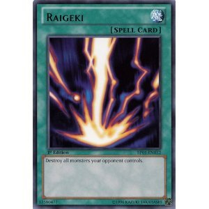Yu-Gi-Oh! - Raigeki (BP01-EN032) - Battle Pack: Epic Dawn ...
