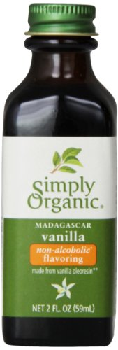 - Simply Organic Vanilla Flavoring, 2 Ounce