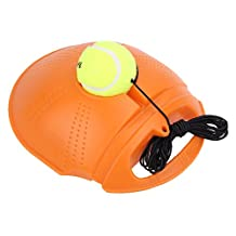 Afco Tennis Practice Training Tool,Exercise Ball Selfstudy Rebound Trainer Baseboard