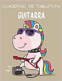Cuaderno de Tablatura Guitarra: 110 páginas   Tamaño 8.5 x 11 Pulgadas   Perfecta para músicos, guitarristas, estudiantes de guitarra española, eléctrica o acústica