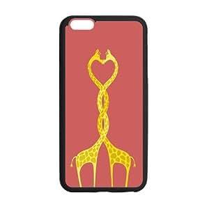 the Case Shop- Cute Giraffe iPhone 6 Plus 5.5 Inch TPU Rubber Hard Back Case Cover Skin , i6pxq-275