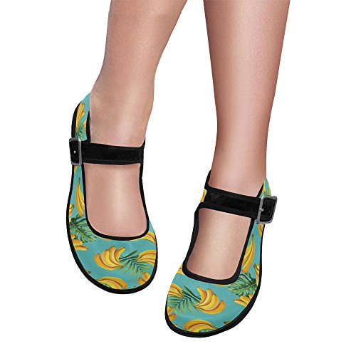 Shoes Casual Jane InterestPrint Women's Flats Multi Mary Comfort Walking 7 qXU0wUZR