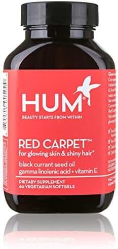 HUM - Red Carpet - Hair & Nails Formula, 60 Vegetarian Softgels