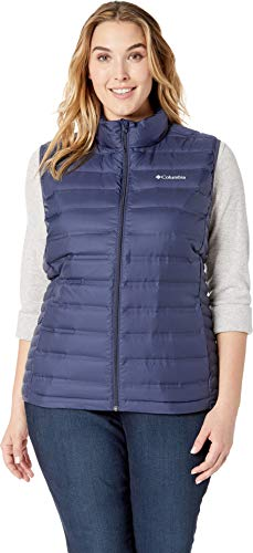 Columbia Quilted Vest - Columbia Women's Plus Size Lake 22¿ Vest Nocturnal 3X