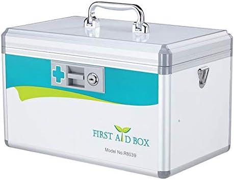 JYYX Portátil/Emergencia / / Gabinete Médico/Paquete de Primeros Auxilios Kit de Coche/Medicina hogar Supervivencia de Almacenamiento Caja de Caja de la Medicina/contenedor,B1: Amazon.es: Hogar