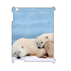 GRTT Hot Selling IPad 2,3,4 Cover Custom Case Polar Bear,3D Bumper Plastic customized case RT804543