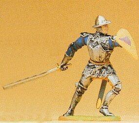 Preiser 52008 Knight Parrying +Sword
