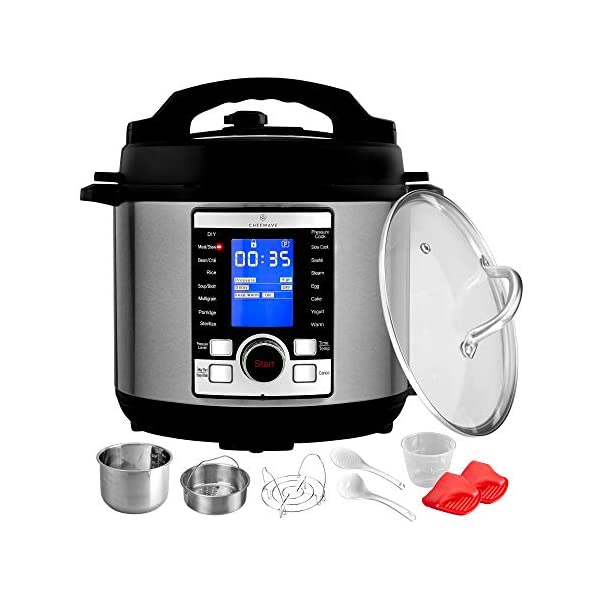 ChefWave Swift Pot 10-in-1 Programmable Multi Cooker with Accessories 2