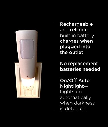 WESTEK LED Power Failure Light, Flashlight and Night Light - A Safety Must-Have for Blackouts/Power Outages - Ideal for Use at Home, Be Prepared - Battery Back-Up, No Need to Recharge, Pack of 2