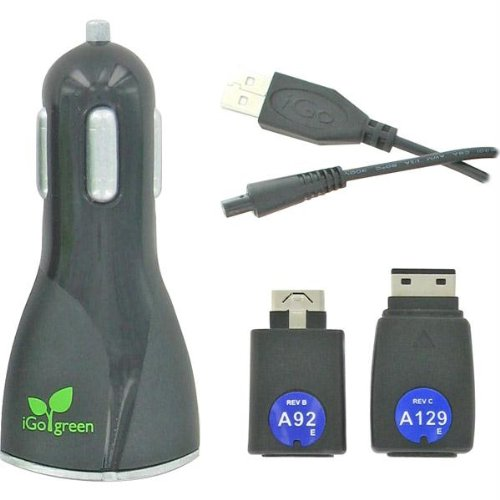 Igo Dl USB Auto Charger-sam/lg Includes Igo Tip A92/A129