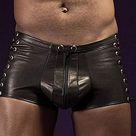 ovp SK8ERBOY schwarz gay-wear underwear herren - neu Shiny-Boxershort