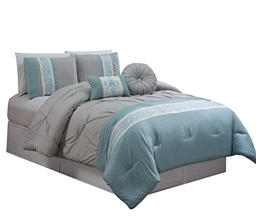 RT Designers Collection Albury 5 Piece Comforter Set, King by RT Designers Collection