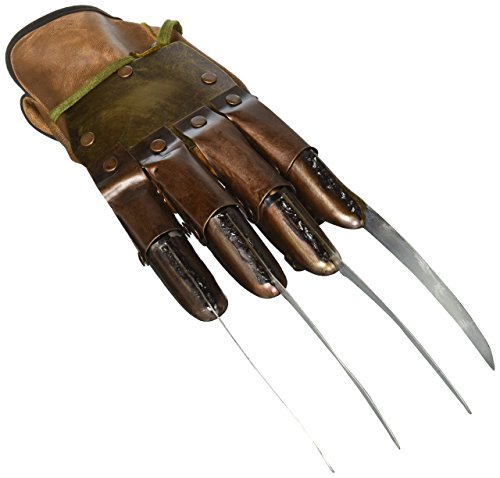 NECA Nightmare on Elm Street 3 Dream Warriors Freddy Krueger Glove Prop Replica ()