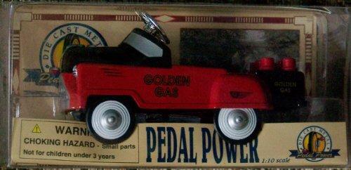 Miniature Pedal Power Die-cast Metal Car Fire-engine